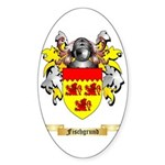 Fischgrund Sticker (Oval)