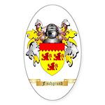 Fischgrund Sticker (Oval 10 pk)