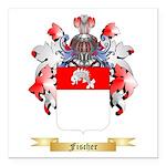 Fischer Square Car Magnet 3