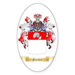 Fischer Sticker (Oval 10 pk)