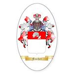 Fischer Sticker (Oval 50 pk)