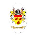 Fischelovitch Oval Car Magnet