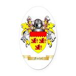 Fischel Oval Car Magnet