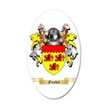 Fischel 20x12 Oval Wall Decal