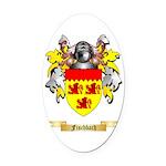 Fischbach Oval Car Magnet