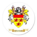 Fischbach Round Car Magnet