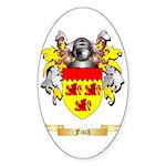 Fisch Sticker (Oval)