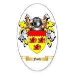 Fisch Sticker (Oval 50 pk)