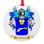 Firth Round Ornament