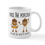 Pass Popcorn Nuts Mugs