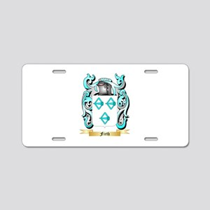 Firth 2 Aluminum License Plate