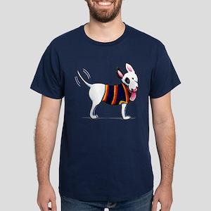 Bull Terrier Blue T-Shirt