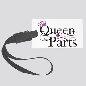 Queen Of Parts Large Luggage Tag