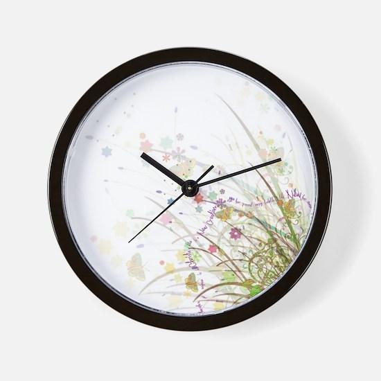 New Creation Wall Clock