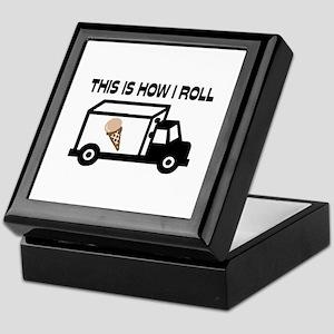 This Is How I Roll Ice Cream Truck Keepsake Box