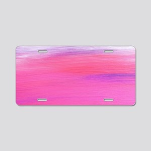Painting Art Aluminum License Plate