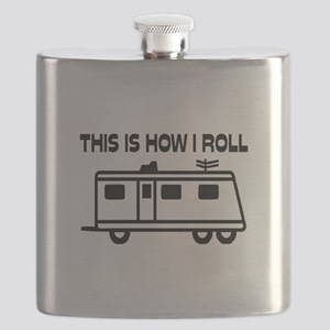 This Is How I Roll Motorhome Flask