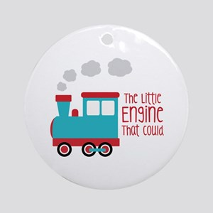 The Little Engine That Could Ornament (Round)