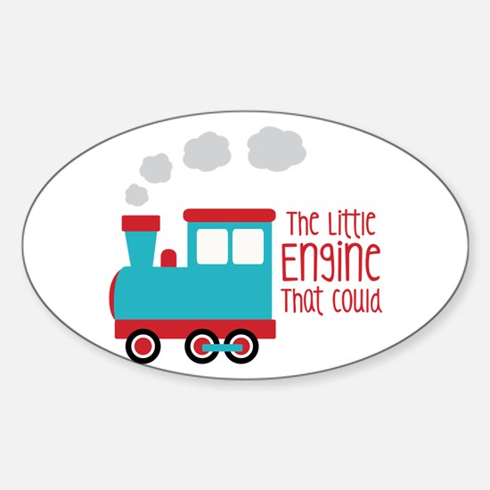 The Little Engine That Could Decal