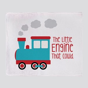 The Little Engine That Could Throw Blanket