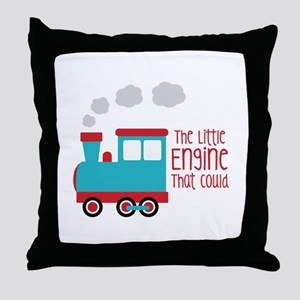The Little Engine That Could Throw Pillow