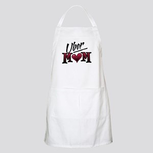 Uber Mom Mother's Day Heart BBQ Apron