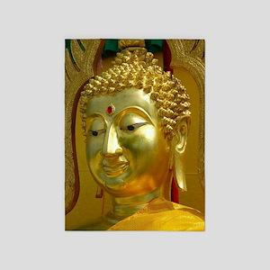 Golden Buddha 5'x7'Area Rug