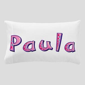 Paula Pink Giraffe Pillow Case