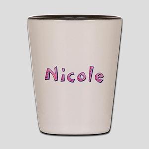 Nicole Pink Giraffe Shot Glass