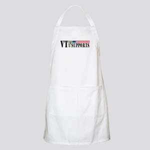 VT SUPPORTS Official Logo Light Apron