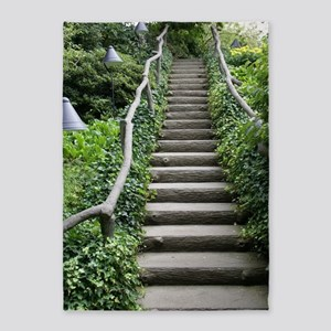 Stairway Nature 5'x7'Area Rug