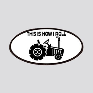 a476f9b52e3 This Is How I Roll Farming Tractor Patches