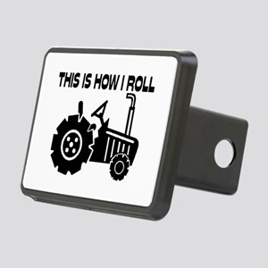 This Is How I Roll Farming Rectangular Hitch Cover