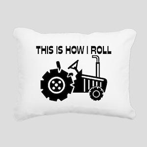 This Is How I Roll Farmi Rectangular Canvas Pillow