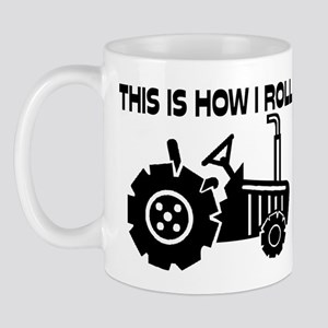 This Is How I Roll Farming Tractor Mug