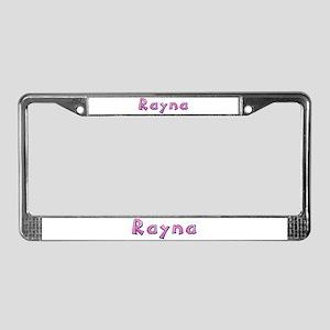 Rayna Pink Giraffe License Plate Frame