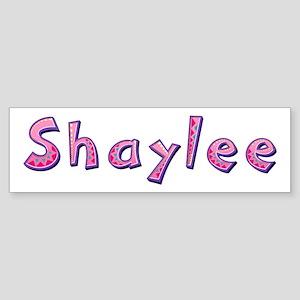 Shaylee Pink Giraffe Bumper Sticker