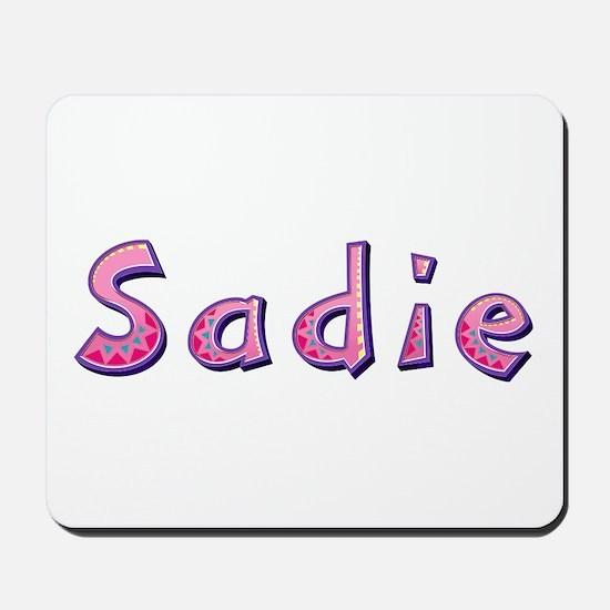 Sadie Pink Giraffe Mousepad