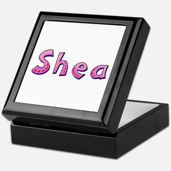 Shea Pink Giraffe Keepsake Box