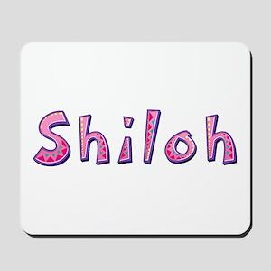 Shiloh Pink Giraffe Mousepad