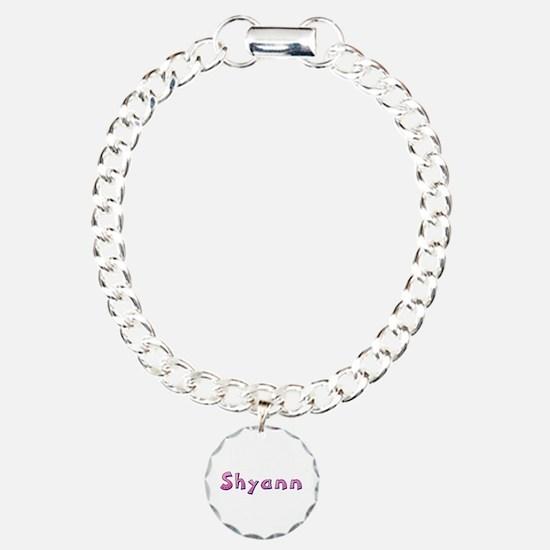 Shyann Pink Giraffe Bracelet
