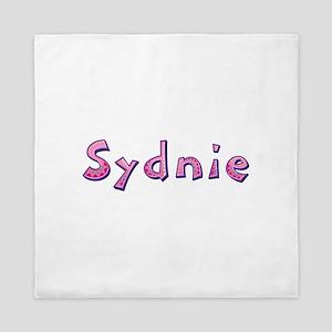 Sydnie Pink Giraffe Queen Duvet
