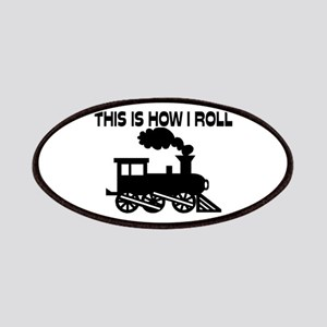 This Is How I Roll Train Patches