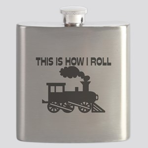 This Is How I Roll Train Flask