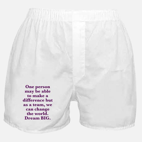 Team World Change Boxer Shorts