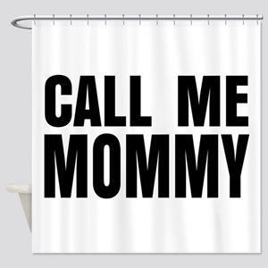 Simple Mommy Design Shower Curtain