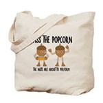 Pass Popcorn Nuts Tote Bag