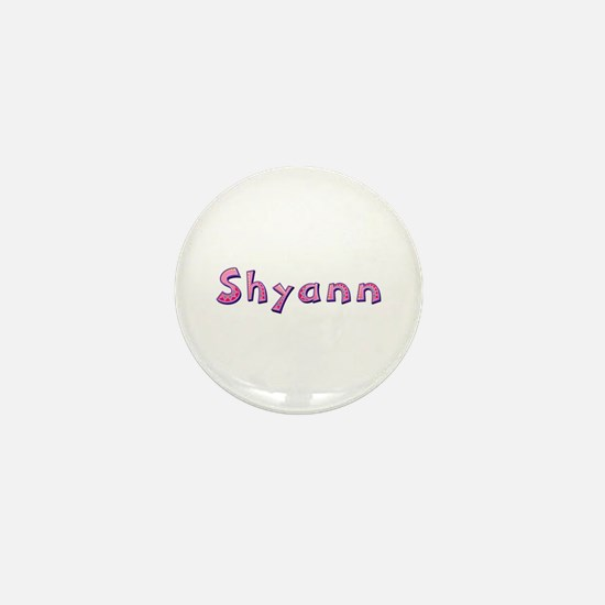 Shyann Pink Giraffe Mini Button