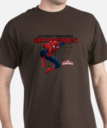 Spiderman: With Great Power T-Shirt