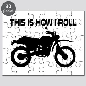 This Is How I Roll Dirt Bike Puzzle